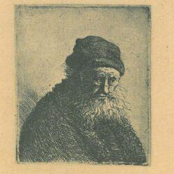 Rembrandt, Etching, Bartsch B. 337,