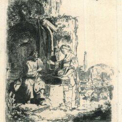 Rembrandt, Etching, Bartsch B. 71, New Hollstein 127,