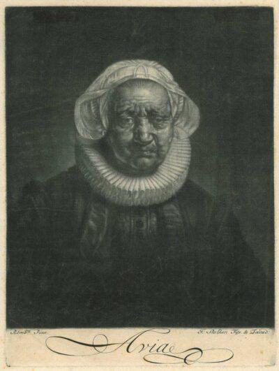 Rembrandt Portrait of Françoise van Wassenhove (?-?) , Portrait of an 83-year-old woman , Portrait of Rembrandt's mother Portrait of Aechje Claesdr