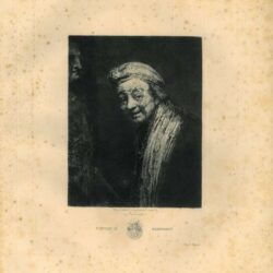 Rembrandt, painting, Self Portrait as Zeuxis
