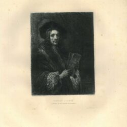 Rembrandt, painting, Portrait of a man , The auctioneer , Portrait of a scholar
