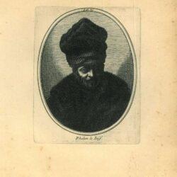 Rembrandt, painting, Philon le juif,  Bust of an old man with a fur cap