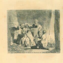 Rembrandt, Drawing, Manius Curius Dentatus Refusing the Gifts of the Samnites