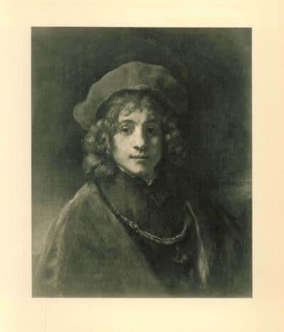 rembrandt painting Portrait of Titus