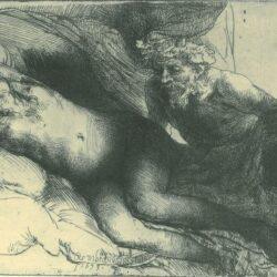 Rembrandt, etching, Bartsch B. 203,