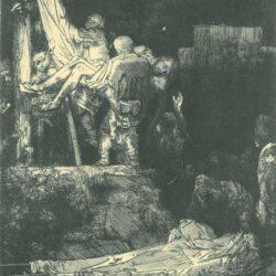 Rembrandt, etching, Bartsch B. 83,