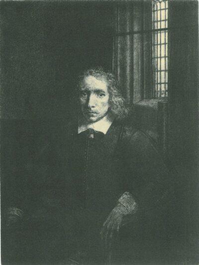 Rembrandt, etching, Bartsch B. 275,