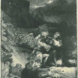 Rembrandt, etching, Bartsch B. 75,