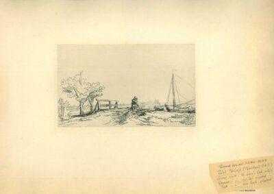 Rembrandt, Ets, Bartsch B. 208,