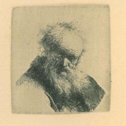 Rembrandt, etching, Bartsch b. 291,
