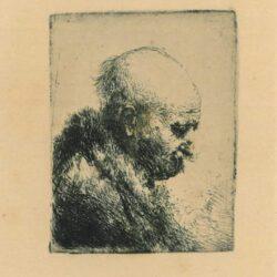 Rembrandt, etching, Bartsch b. 294,