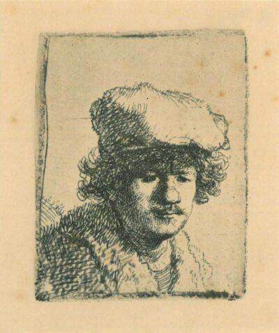 Rembrandt, etching, Bartsch b. 319,