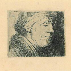 Rembrandt, etching, Bartsch b. 360, titel ontbreekt