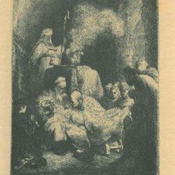 Rembrandt, etching, Bartsch b. 48,