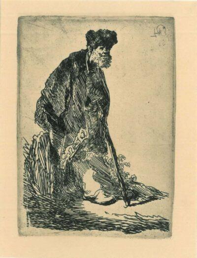 Rembrandt, etching, Bartsch B. 151,