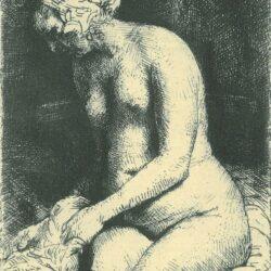 Rembrandt Etching, Bartch B. 200,
