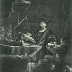 Rembrandt Etching, Bartch B. 281,