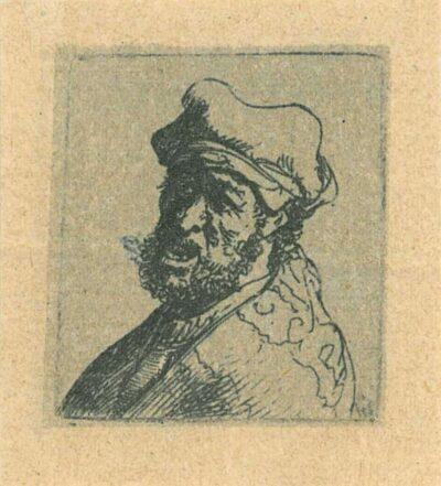Rembrandt, etching, Bartsch b. 300, titel ontbreekt