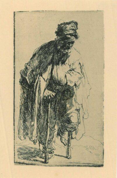 Rembrandt Etching, Bartsch B. 179,