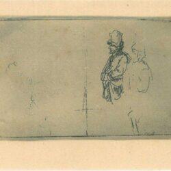 Rembrandt, etching, Bartsch B. 373,