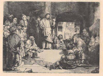 Rembrandt ets, Bartsch B. 67,