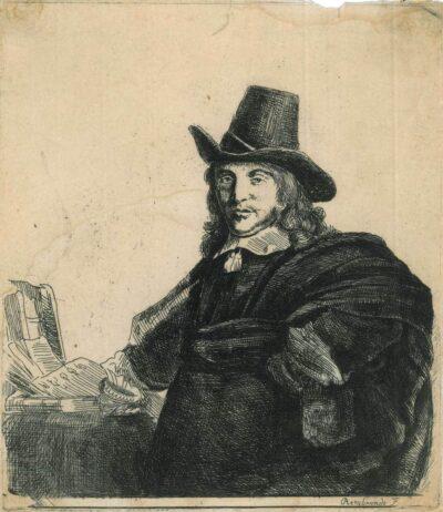 Rembrandt Etchting Bartsch B.