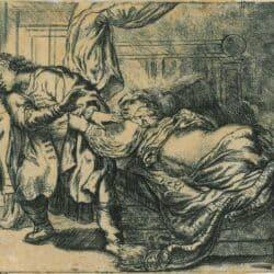 Rembrandt Etching Bartsch B. 39,