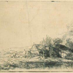 Rembrandt Etching Bartsch B. 237