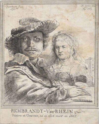 Rembrandt, Bartsch B. 11, New Hollstein 158, Anthony Cardon (1772 — 1813),