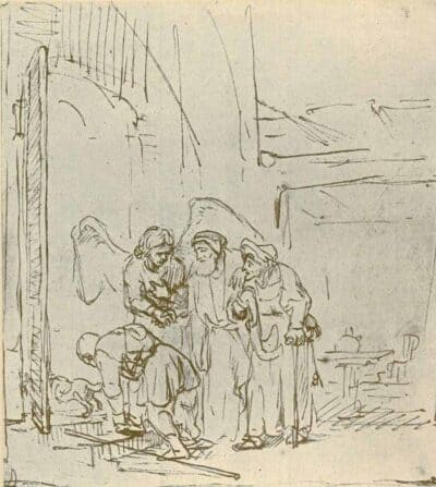 Rembrandt, Drawing,